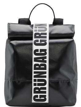 Schwarzer Rucksack Norr Groß-20